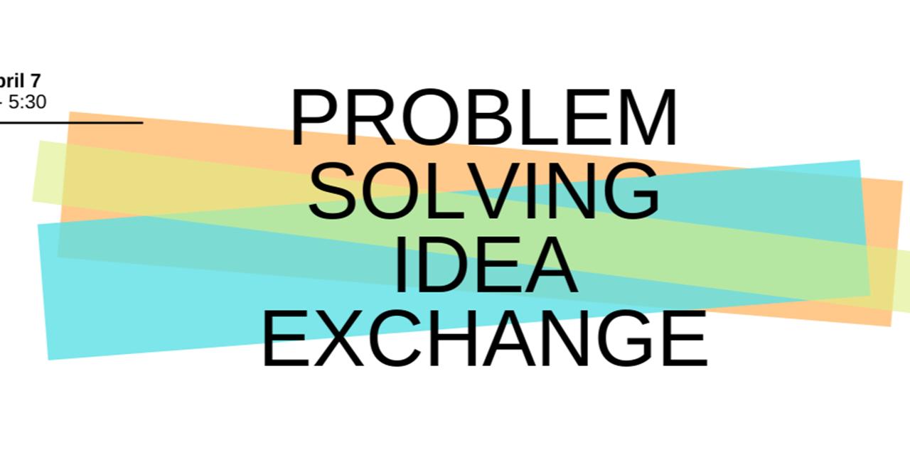 Problem Solving Idea Exchange Event Logo