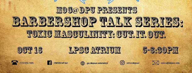 MOC@DPU Barbershop Talk