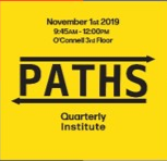 PATHS Quarterly Institute : Setting Yourself Up For Success- New Year New You