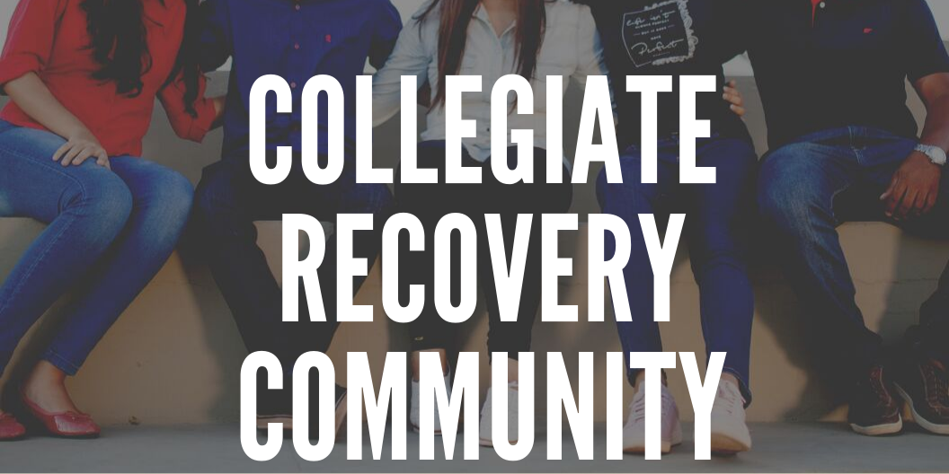 Collegiate Recovery Community Meeting: Letter to Yourself Event Logo