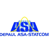 DePaul ASA-STATCOM Combined Student Chapter's logo