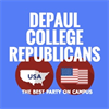 DePaul College Republicans's logo