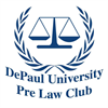 DePaul University Pre-Law Club's logo