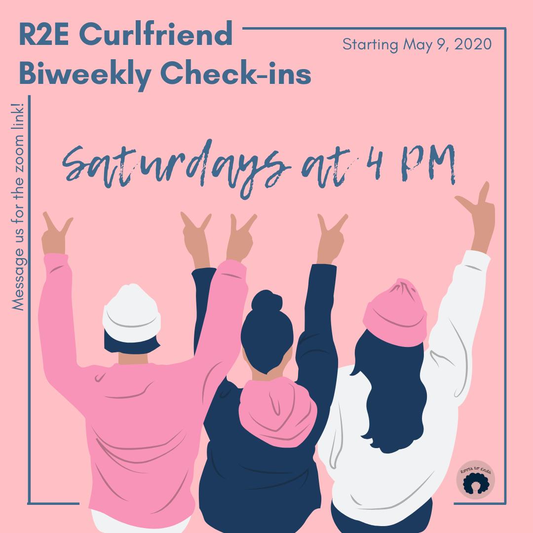 R2E Curlfriend Check-Ins!
