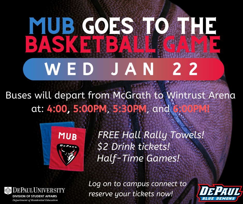 MUB goes to the Basketball Game!