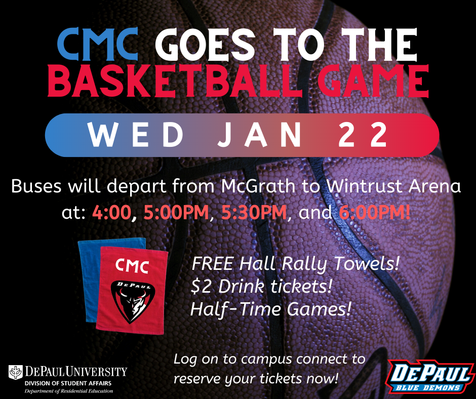 CMC goes to the Basketball Game
