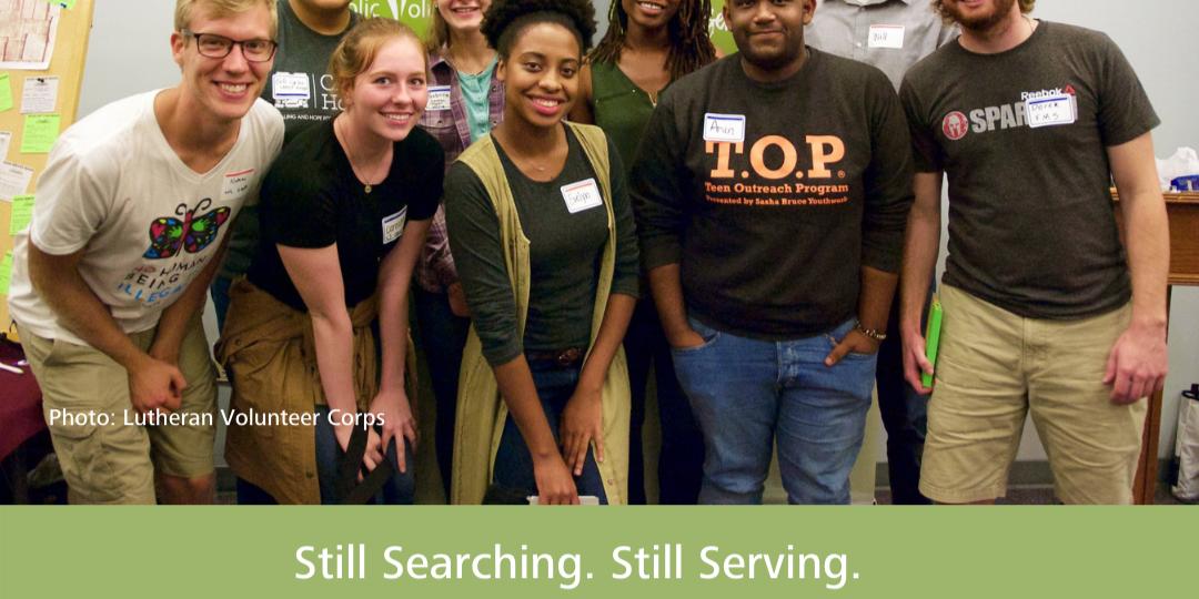 Virtual Post-Graduate Volunteer Fair Event Logo