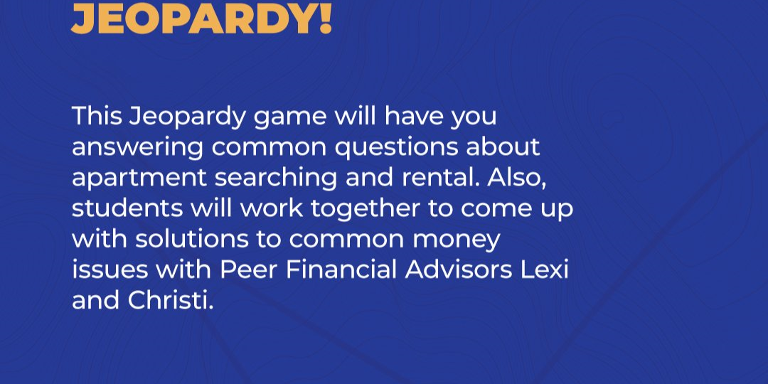 Apartment Hunting Jeopardy