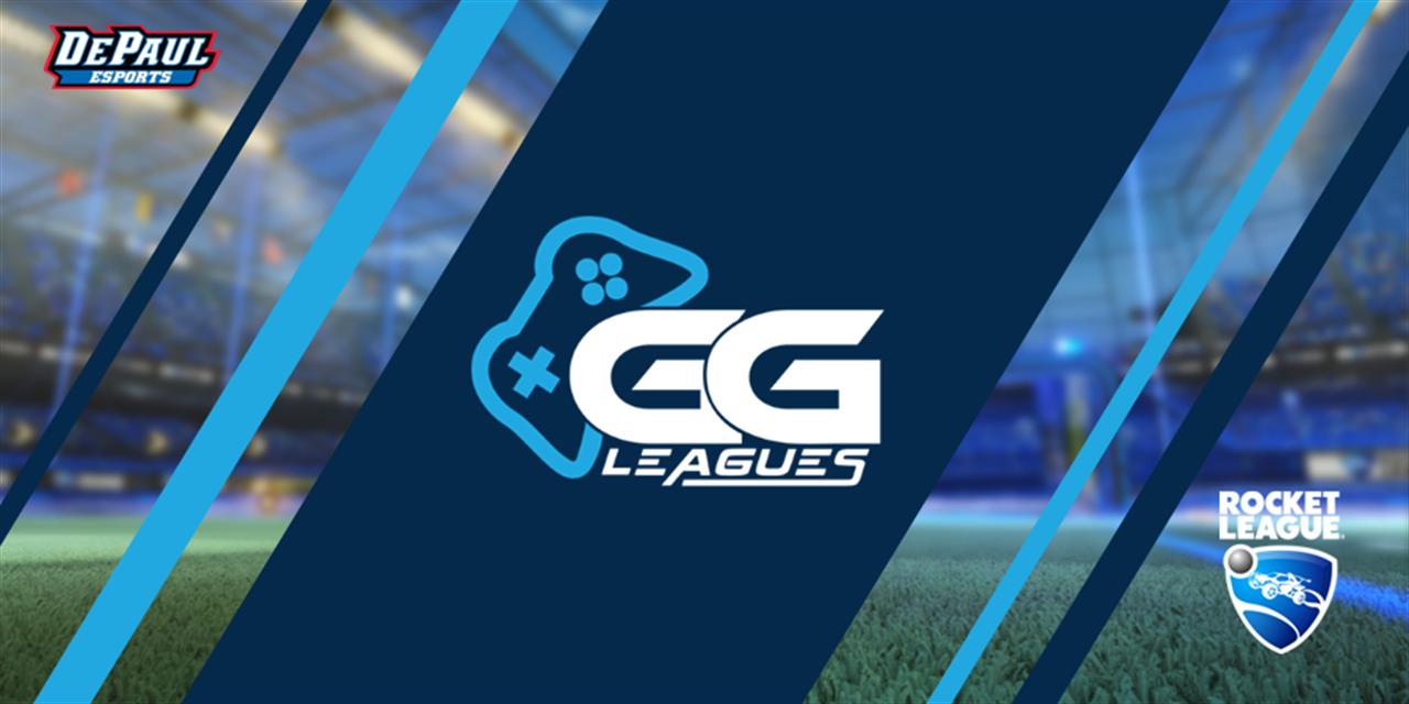 GGLeagues: Rocket League | DePaul Blue vs. Columbia College Event Logo