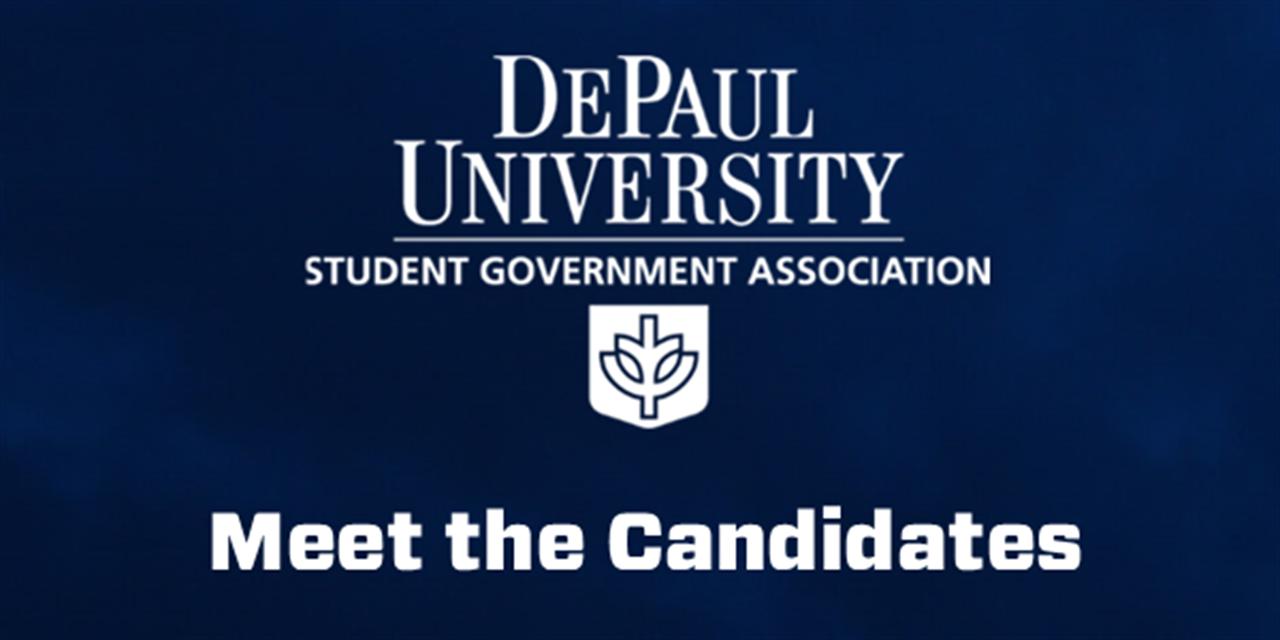 Meet SGA's Spring Election Candidates Event Logo