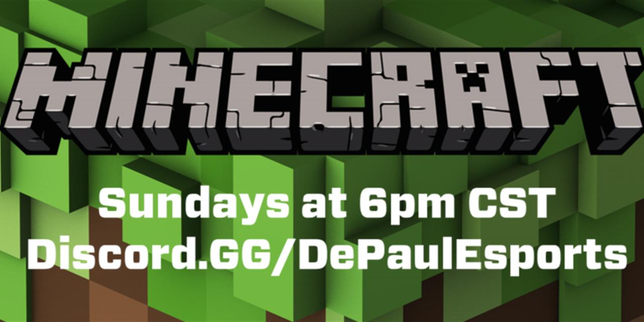Minecraft Sundays Event Logo