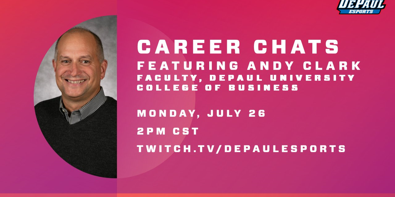 Career Chats ft. Andy Clark Event Logo