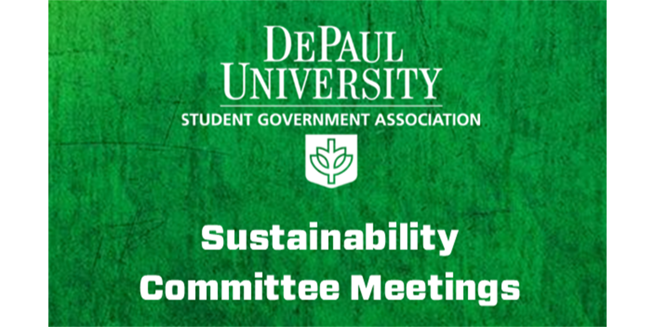 Sustainability Committee Meeting Event Logo
