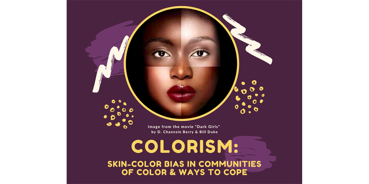 Colorism: Skin-Color Bias in Communities of Color & Ways to Cope Event Logo