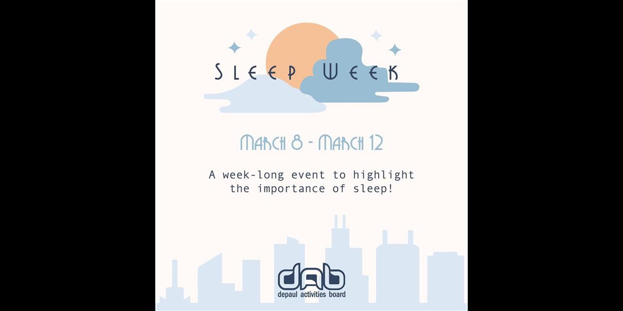 DAB's Sleep Week Event Logo
