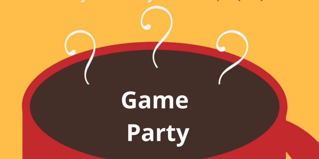 Cafecito con Tepeyac: Game Night Event Logo
