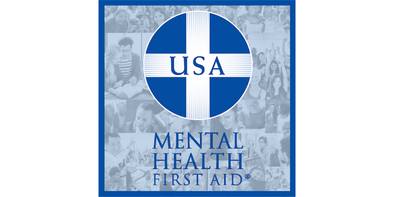 Mental Health First Aid Training (MHFA) Event Logo