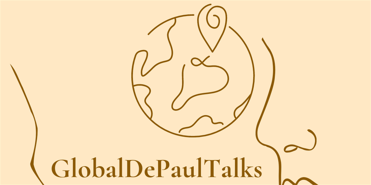 GlobalDePaulTalks Event Logo