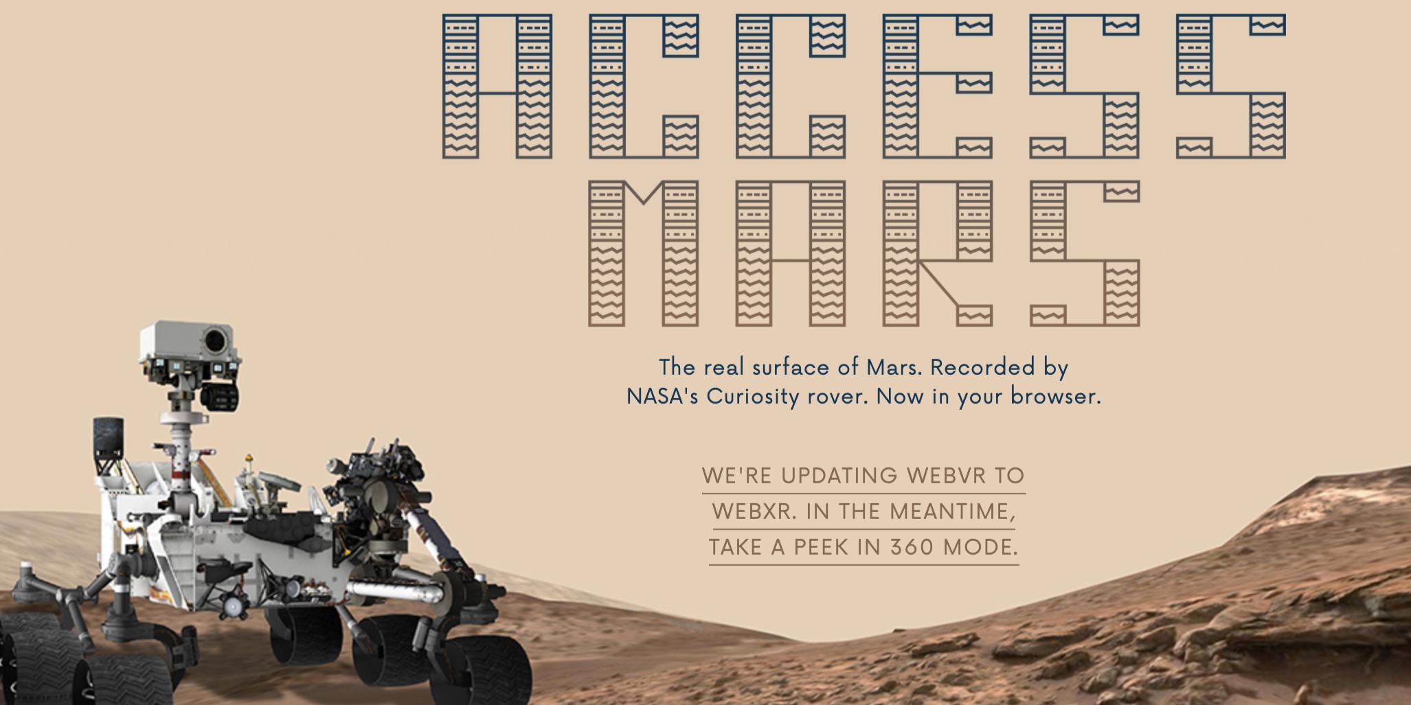 Virtual Tour of the Week: Mars
