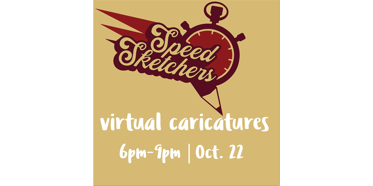 Homecoming 2020: Speed Sketchers Event Logo