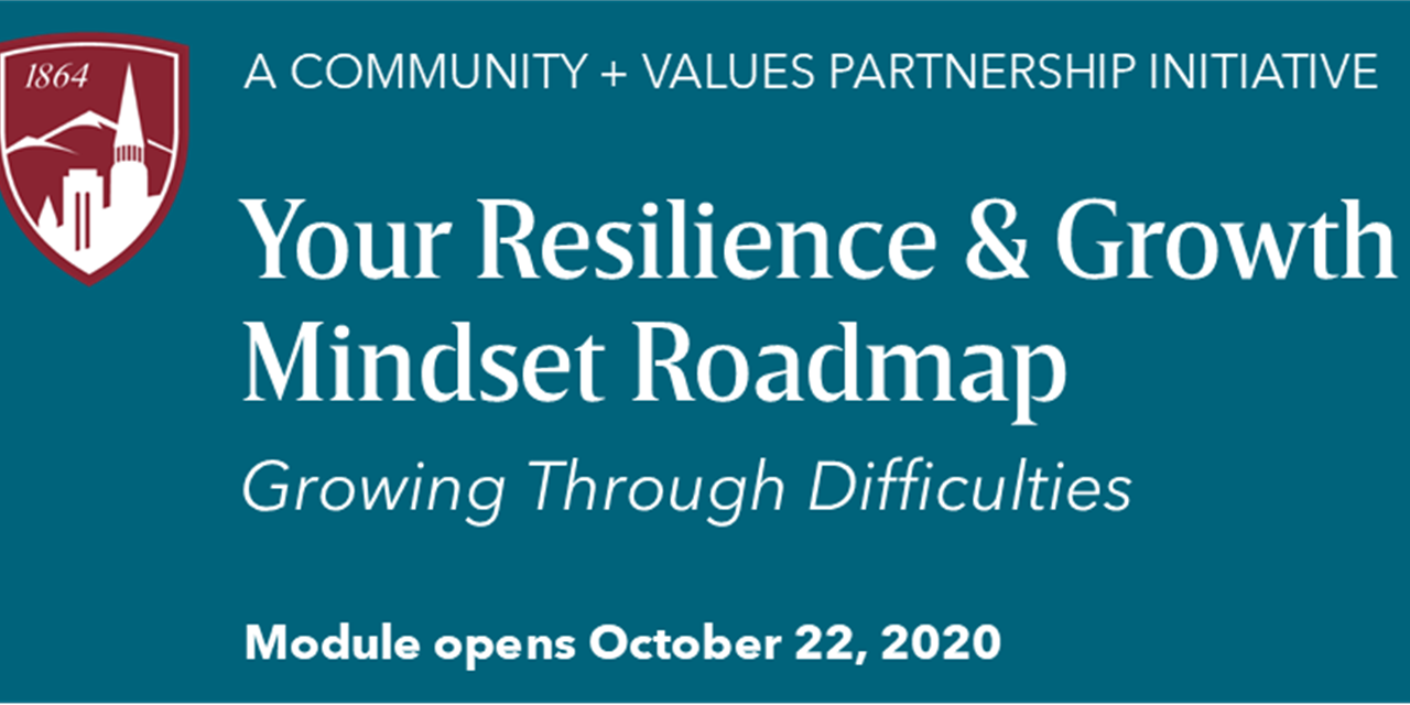 Your Resilience & Growth Mindset Roadmap: Growing Through Difficulties Event Logo