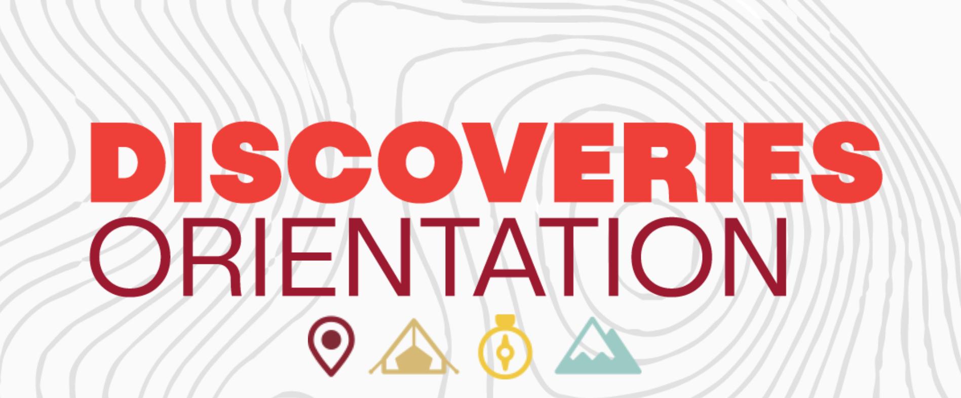 Discoveries Orientation Logo