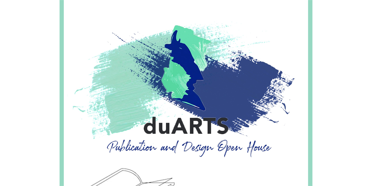 Publishing and Design Open House Event Logo