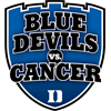 Blue Devils versus Cancer's logo