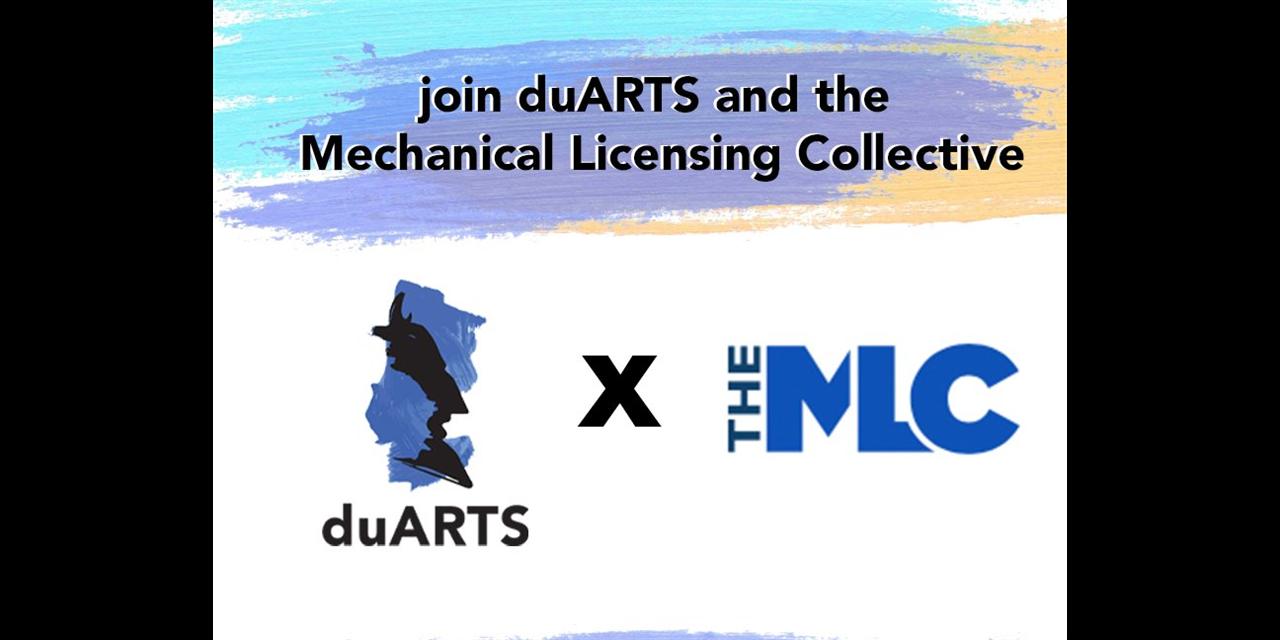 ArtsFest: Music Industry Webinar - Mechanical Licensing Collective Event Logo