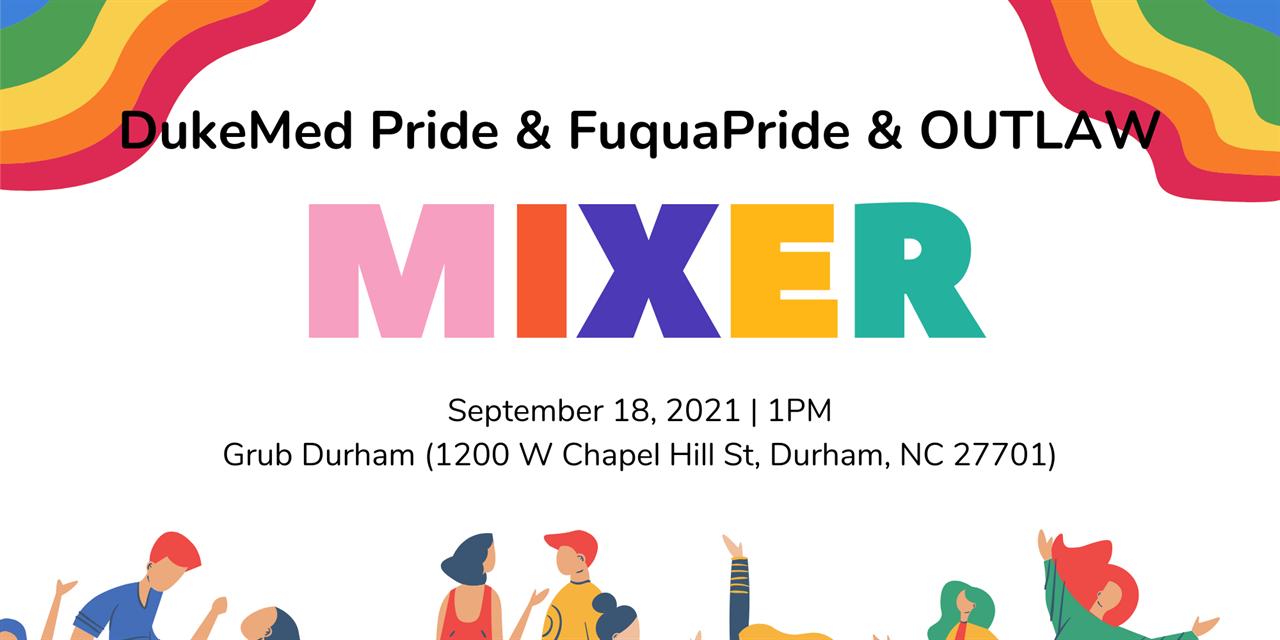 Pride Graduate Mixer Event Logo