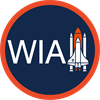 Women in Aerospace's logo