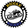 Riddle Riders Motorcycle Club's logo