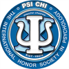 Psi Chi: The International Honor Society in Psychology's logo