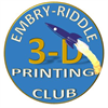 3-D Printing Club at Embry-Riddle's logo