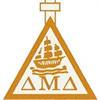 Delta Mu Delta International Honor Society in Business's logo