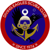 Diving Eagles Scuba Club's logo