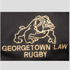 Georgetow Law Rugby Club's logo
