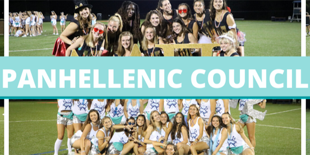 Panhellenic Council Group Banner