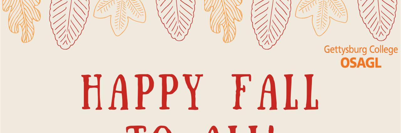 Happy Fall to All