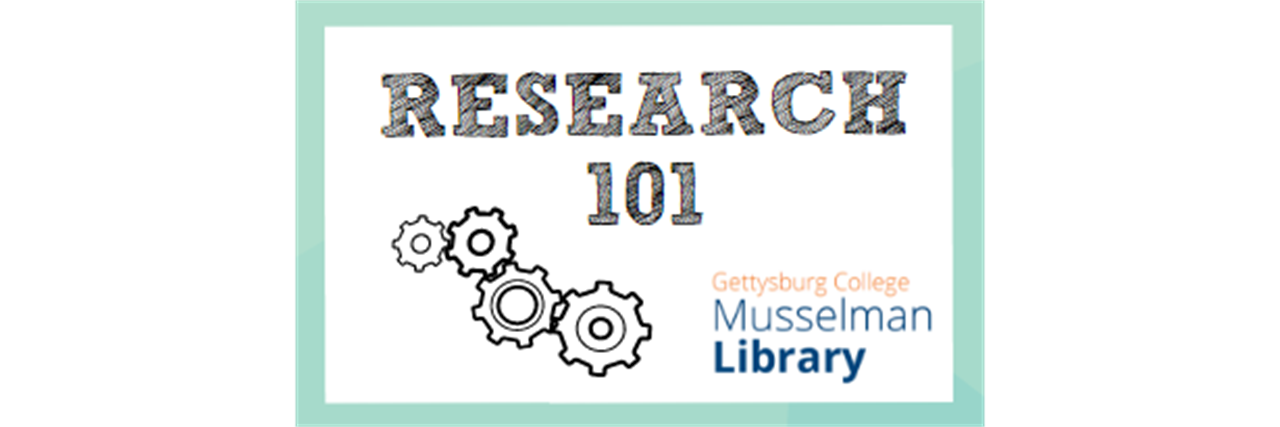 Research 101: Organize Your Research