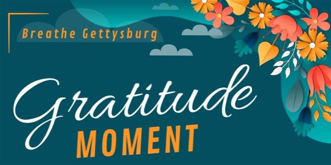 Gratitude Moment Event Logo