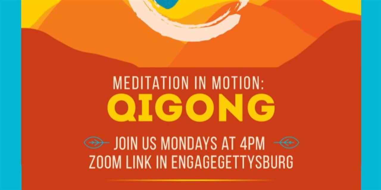Meditation in Motion: Qigong Event Logo