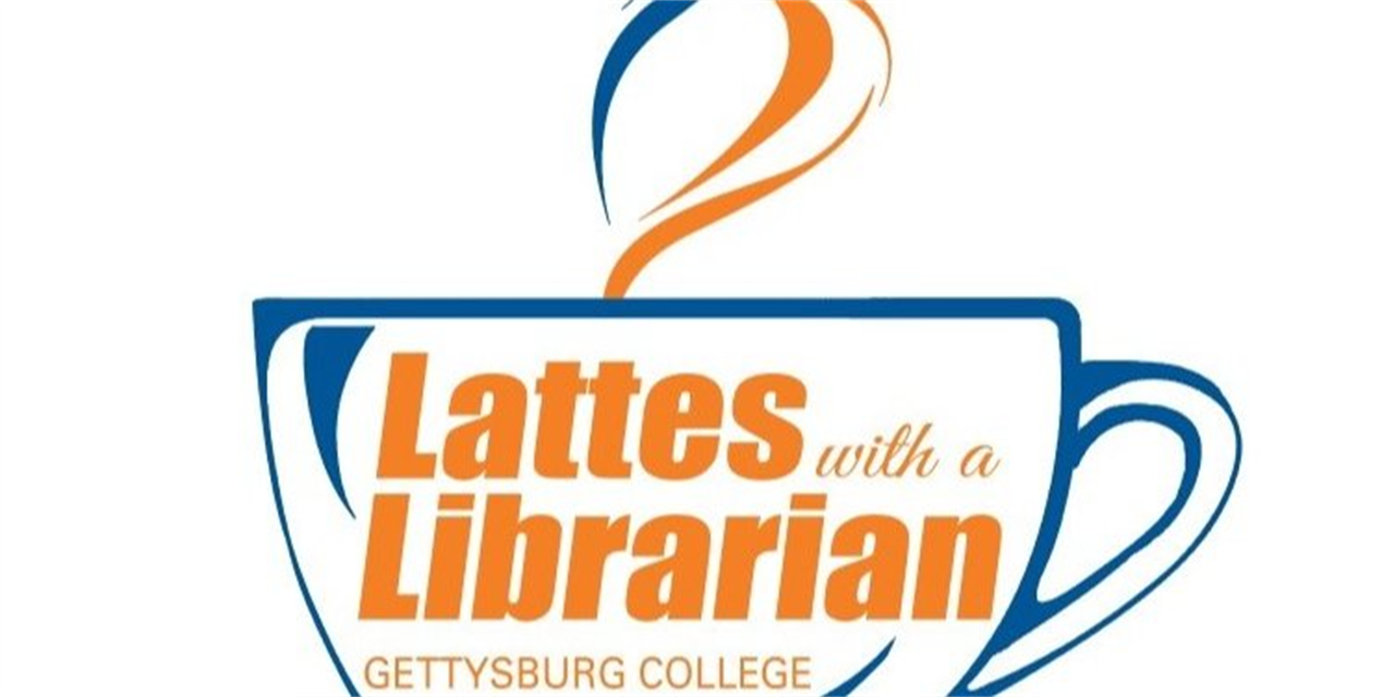 Lattes with a Librarian Event Logo