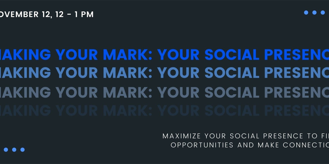 Making Your Mark: Maximize Your Social Presence, Featuring IBM Event Logo