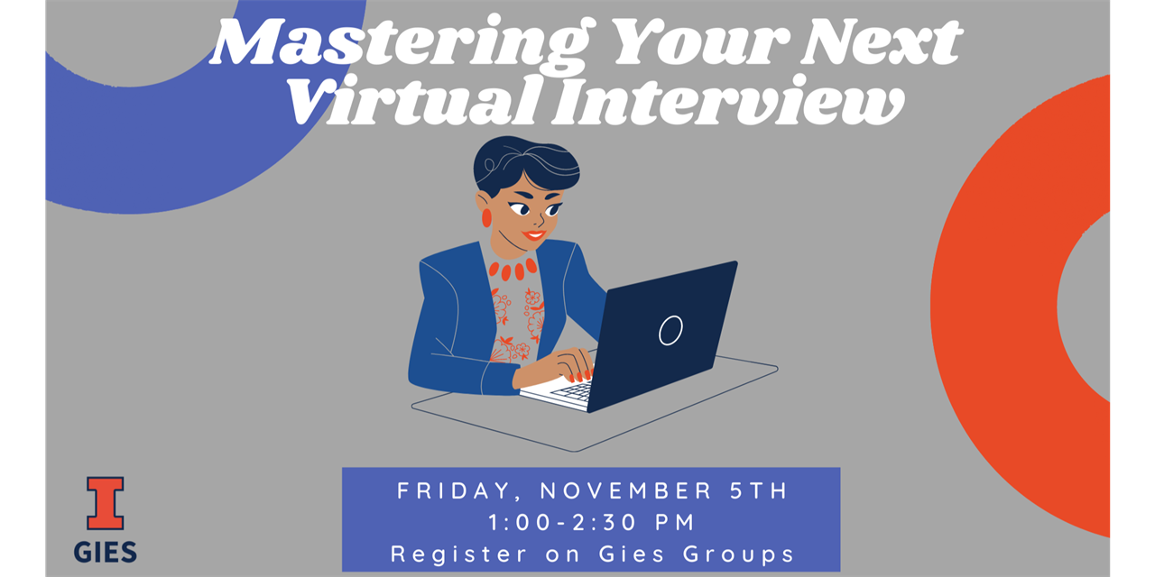 Mastering Your Next Virtual Interview Event Logo