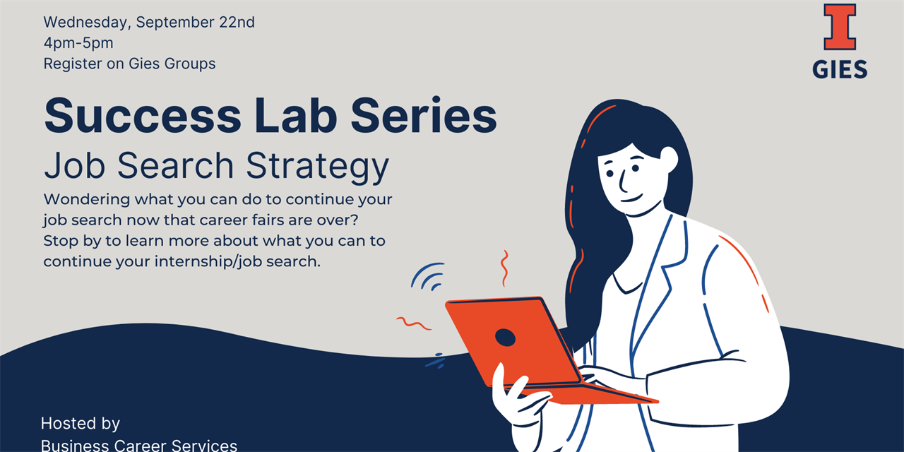 Success Lab Series: Job Search Strategy Workshop - IN PERSON Event Logo