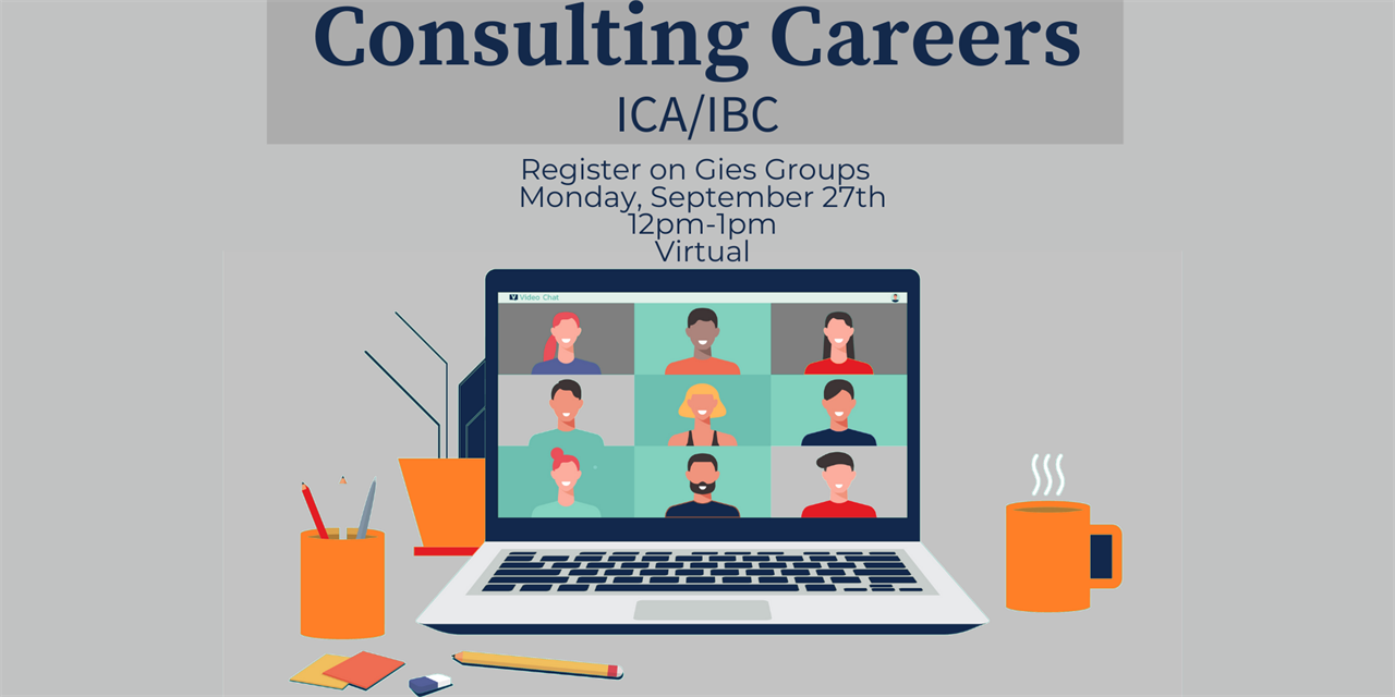 Consulting Careers with ICA & IBC Event Logo