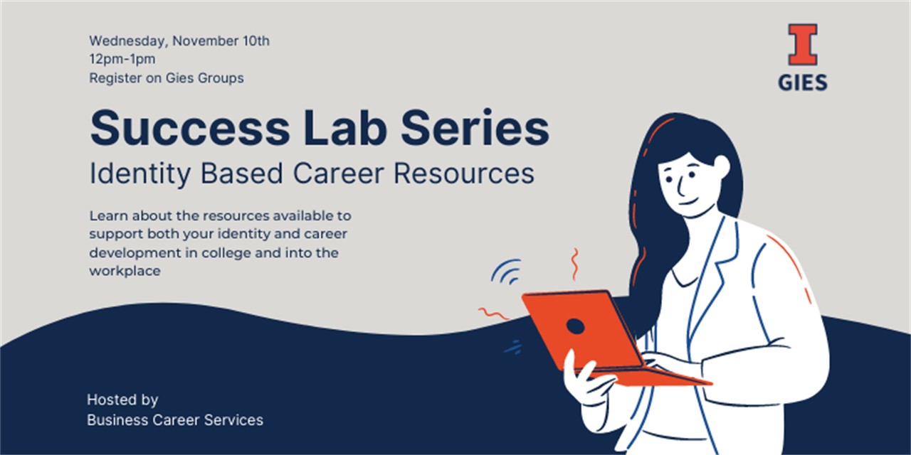 Success Lab Series: Identity Based Career Resources - IN PERSON Event Logo