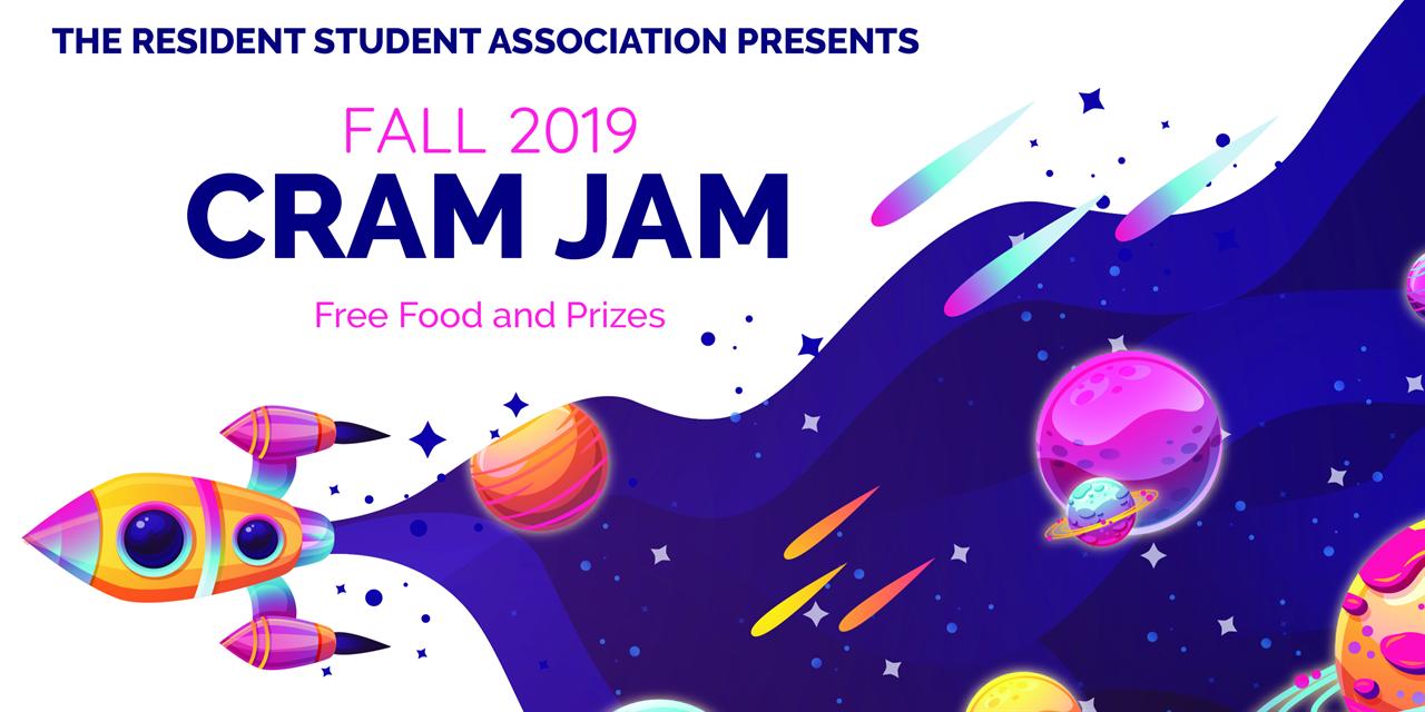 Cram Jam: Fall 2019 Event Logo