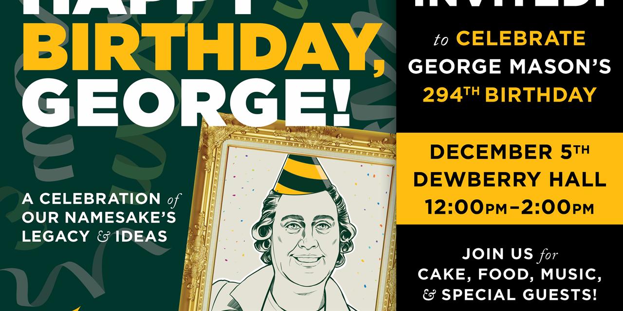 Happy Birthday, George! Event Logo